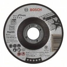 Отрезной круг выпуклый Best for Inox, Rapido A 60 W INOX BF 115x1,0 мм Bosch 2608603491