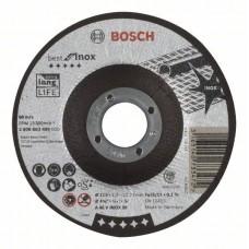 Отрезной круг выпуклый Best for Inox A 46 V INOX BF 115x1,5 мм Bosch 2608603495