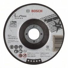 Отрезной круг выпуклый Best for Inox A 46 V INOX BF 125x1,5 мм Bosch 2608603497