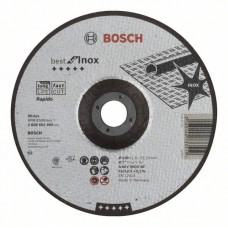 Отрезной круг выпуклый Best for Inox, Rapido A 46 V INOX BF 180x1,6 мм Bosch 2608603499