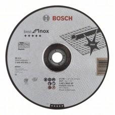 Отрезной круг выпуклый Best for Inox, Rapido A 46 V INOX BF 230x1,9 мм Bosch 2608603501