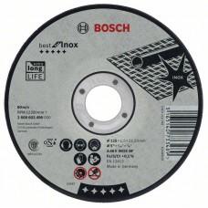 Отрезной круг прямой Best for Inox A 30 V INOX BF 115x2,5 мм Bosch 2608603502