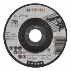 Отрезной круг выпуклый Best for Inox A 30 V INOX BF 115x2,5 мм Bosch 2608603503