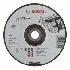 Отрезной круг выпуклый Best for Inox A 30 V INOX BF 180x2,5 мм Bosch 2608603507