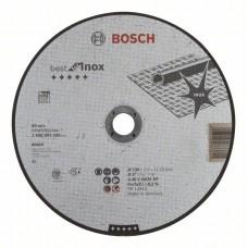 Отрезной круг прямой Best for Inox A 30 V INOX BF 230x2,5 мм Bosch 2608603508