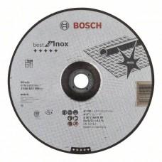 Отрезной круг выпуклый Best for Inox A 30 V INOX BF 230x2,5 мм Bosch 2608603509