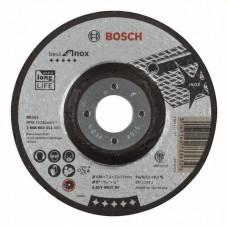 Обдирочный круг выпуклый Best for Inox A 30 V INOX BF 125x7,0 мм Bosch 2608603511