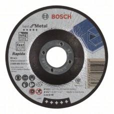 Отрезной круг выпуклый Best for Metal, Rapido A 60 W BF 115x1,0 мм Bosch 2608603513