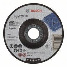 Отрезной круг выпуклый Best for Metal, Rapido A 60 W BF 125x1,0 мм Bosch 2608603515