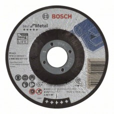Отрезной круг выпуклый Best for Metal A 46 V BF 115x1,5 мм Bosch 2608603517