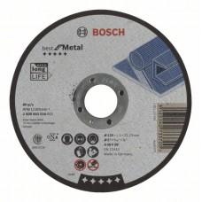 Отрезной круг прямой Best for Metal A 46 V BF 125x1,5 мм Bosch 2608603518