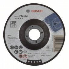 Отрезной круг выпуклый Best for Metal A 46 V BF 125x1,5 мм Bosch 2608603519