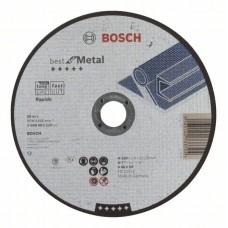 Отрезной круг прямой Best for Metal, Rapido A 46 V BF 180x1,6 мм Bosch 2608603520