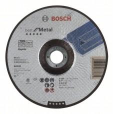 Отрезной круг выпуклый Best for Metal, Rapido A 46 V BF 180x1,6 мм Bosch 2608603521