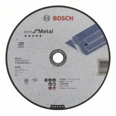 Отрезной круг прямой Best for Metal A 30 V BF 230x2,5 мм Bosch 2608603530