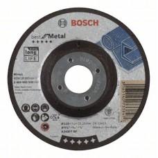 Обдирочный круг выпуклый Best for Metal A 2430 T BF 115x7,0 мм Bosch 2608603532