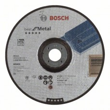 Обдирочный круг выпуклый Best for Metal A 2430 T BF 180x7,0 мм Bosch 2608603534