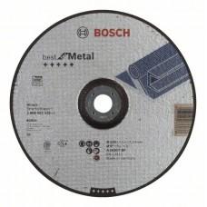 Обдирочный круг выпуклый Best for Metal A 2430 T BF 230x7,0 мм Bosch 2608603535
