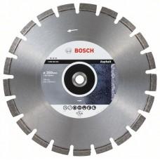 Алмазный диск Best for Asphalt 350x20/25,40x3,2x12 мм Bosch 2608603641