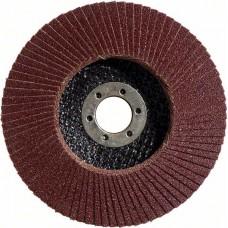 Лепестковый шлифкруг X431 Standard for Metal 125x22,23 мм, 40 Bosch 2608603656