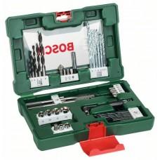 Набор сверл и насадок-бит V-Line с двусторонней отверткой из 41 шт. Bosch 2607017316