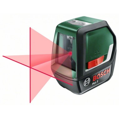 Лазерный уровень с перекрестными лучами Bosch PLL 2 (0603663420)