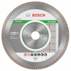 Алмазный диск Best for Ceramic Extra-Clean Turbo 180x22,23x1,6x7 мм Bosch 2608603596