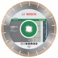 Алмазный диск Best for Ceramic and Stone 250x25,40x1,8x10 мм Bosch 2608603601