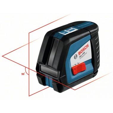 Линейный лазерный нивелир Bosch GLL 2-50 (0601063109)