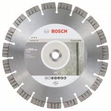 Алмазный диск Best for Concrete 300x20,00x2,8x15 мм Bosch 2608603756