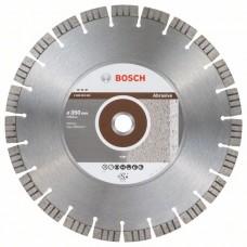 Алмазный диск Best for Abrasive 350x25,40x3,2x15 мм Bosch 2608603824