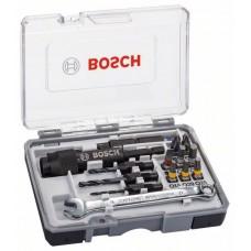 Набор из 20 бит Drill&Drive PH2; PH2; PZ2; SL5; H4; H5; T15; T20; T25 Bosch 2607002786