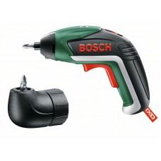 Аккумуляторная отвертка Bosch IXO Medium c угловой насадкой (06039A8021)