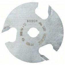 Плоская пазовая фреза 8 мм, D1 50,8 мм, L 3 мм, G 8 мм Bosch 2608629389