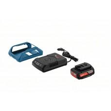 Комплект: аккумулятор GBA 18В 2,0Ач MW-B + зарядное устройство GAL 1830 W Bosch  (1600A003NA)