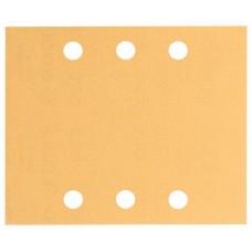 Шлифлист C470, в упаковке 10шт. 115x140 мм, 2x40; 2x60; 2x80; 2x120; 2x180 Bosch 2608608Y00