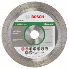Алмазный диск Best for Ceramic 76 мм; 1,9 мм ;10 мм Bosch 2608615020