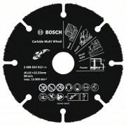 Твердосплавный отрезной круг Multi Wheel 115мм; 1 мм; 22,23 мм Bosch 2608623012