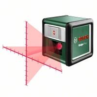 Лазерный уровень с перекрестными лучами Bosch Quigo Plus (0603663600)